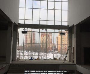 Город Долгопрудный, торгово-развлекательный комплекс (январь 2017, фото 1-5)