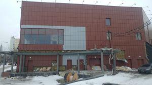Город Долгопрудный, торгово-развлекательный комплекс (февраль 2017, фото 2-4)