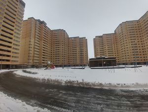 Город Долгопрудный, ЖК «Московские водники», корпус 14-15 (декабрь 2017, фото 13-1)