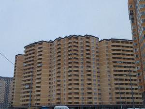 Город Долгопрудный, ЖК «Московские водники», корпус 14-15 (январь 2017, фото 2-1)