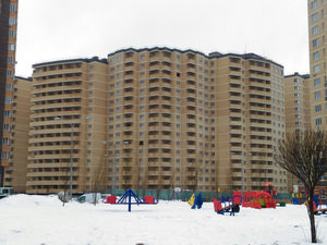 Город Долгопрудный, ЖК «Московские водники», корпус 14-15 (февраль 2017, фото 3-1)