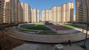 Город Долгопрудный, ЖК «Московские водники», корпус 14-15 (август 2017, фото 9-2)